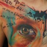Татуировка надписи