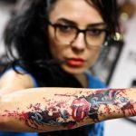 """татуировка на ръката """"Rolling Stones"""""""