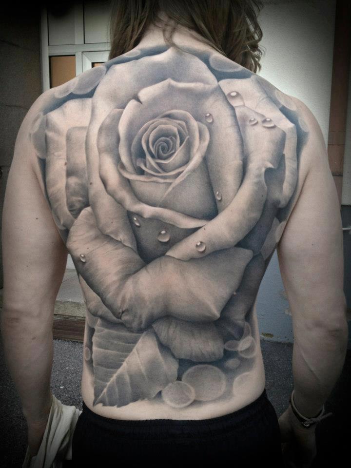 Tattoo studio anyexit for White rose tattoo