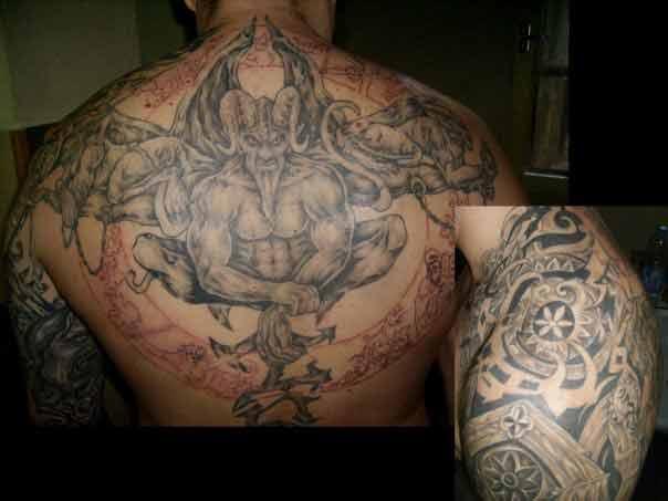 Татуировка гръб