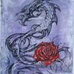 """Авторски модел за татуировка """"Дракон"""""""