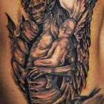 Татуировка ангел - модел R. Hernandez
